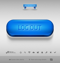 Design elements as business web buttons for vector