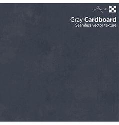 Gray color cardboard seamless texture vector