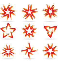 stars icon vector image vector image