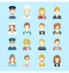 Profession avatar vector image
