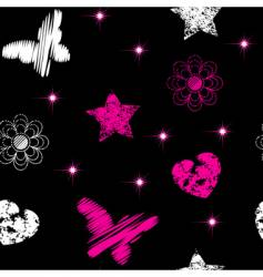 Emo symbols wallpaper vector