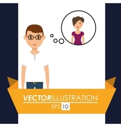 Couple icon design vector