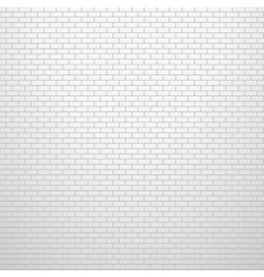 Light brick wall texture background vector image