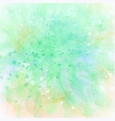 Abstract colorful grunge yellow-green background vector