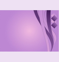 background with purple lines abstract vector image vector image