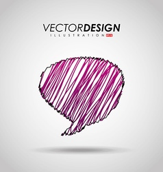 balloon icon design vector image vector image