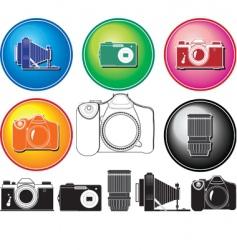 camera history vector image vector image