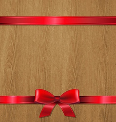 Christmas Wood Texture vector image vector image