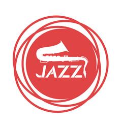 jazz icon vector image