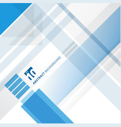 abstract blue and white technology geometric vector image vector image