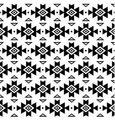 Aztec pattern tribal background navajo vector