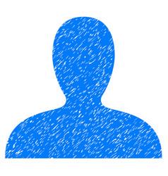 Client icon grunge watermark vector