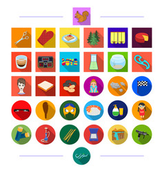 Games business restaurant and other web icon in vector