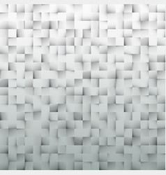 pattern made from squares gray background vector image