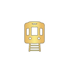 Train computer symbol vector
