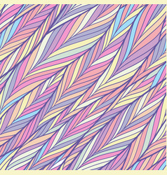 Colorful herringbone pattern vector