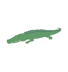 Crocodile icon cartoon style vector