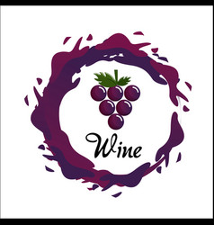 Bubble of wine icon image vector