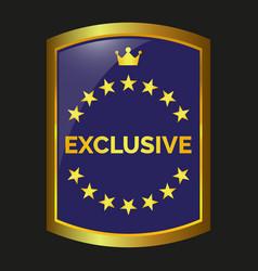 Exclusive label vector