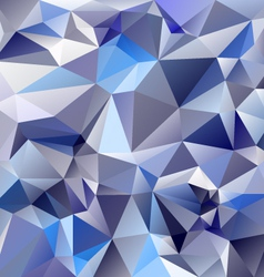Ice glass blue polygonal triangular pattern vector