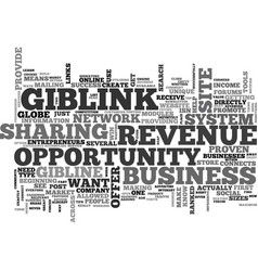 What you should know about the giblink income vector