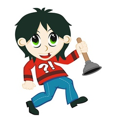 Cartoon child vector