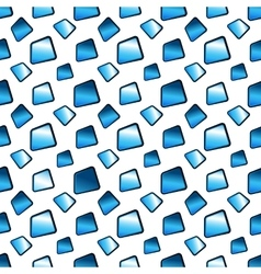 Abstract blue background with texture tiles vector
