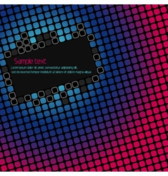 Abstract geometric background with space for text vector image vector image