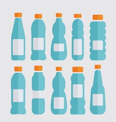 bottles light2 resize vector image vector image