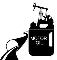 Engine oil vector image vector image
