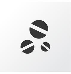 Drug icon symbol premium quality isolated cure vector