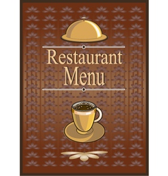 Banner for restaurant and cafe vector