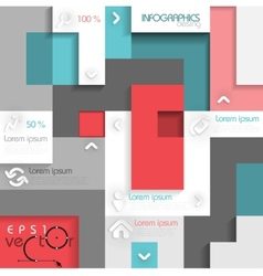 Infographic template with place for your content vector