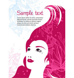 Beauty template vector