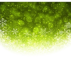 Christmas green abstract background vector