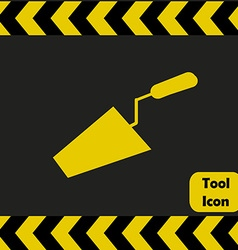 Trowel icon vector