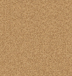 Texture of yellow sand vector