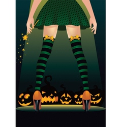 Witch stripper vector