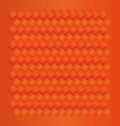 Orange seamless weave pattern vector