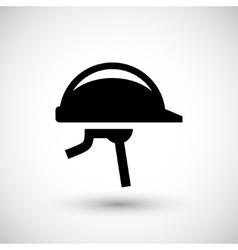 Protective helmet icon vector image
