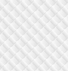 Diagonal white tile geometric background vector image