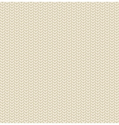 Seamless knitted pattern background vector image