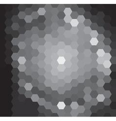 Black Grid vector image