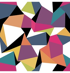 Colorful abstract triangles Seamless abstract vector image