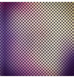 Mosaic violet vintage background vector