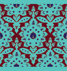Ottoman turkish style floral seamless pattern vector