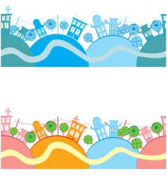 road seamless background vector image vector image