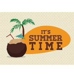 Summertime design vector