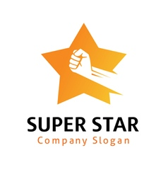 Super star design vector