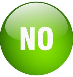 No green round gel isolated push button vector